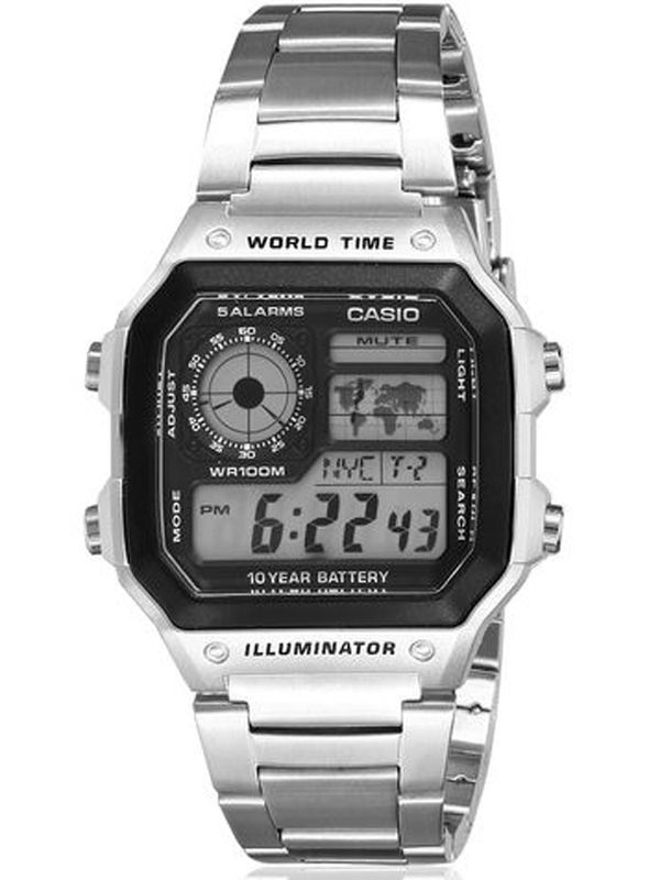 Casio D-099 Digital Multifunction  Mens  Watch