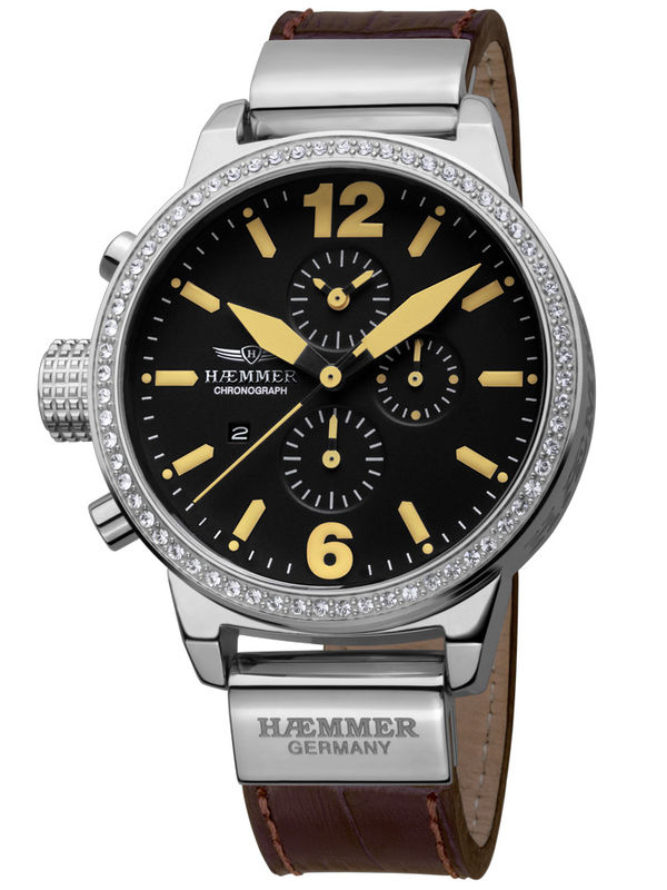 Haemmer-DHC-05 Chronograph Analog Ladies Watch