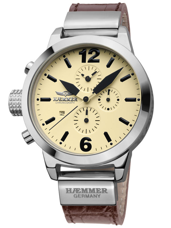Haemmer-DHC-12 Chronograph Analog Ladies Watch