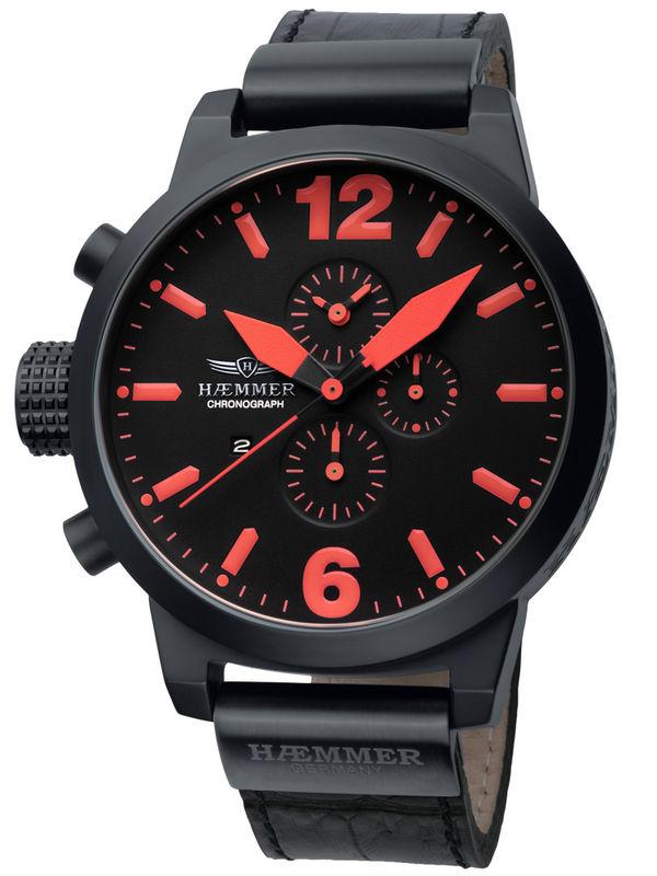 Haemmer-HC-08 Chronograph Analog Mens Watch