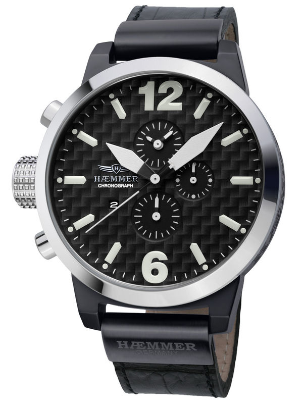 Haemmer-HC-19 Chronograph Analog Mens Watch