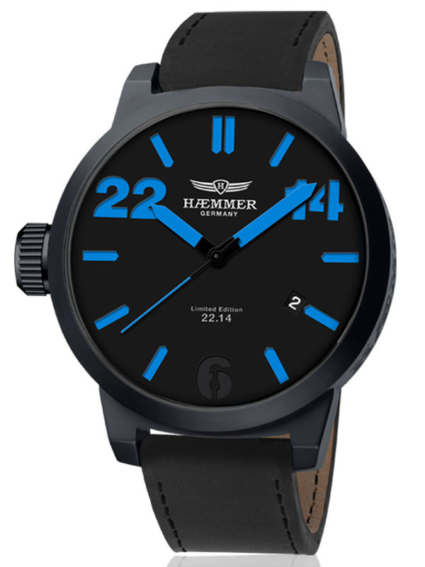 Haemmer-HQ-10 Analog Mens Watch