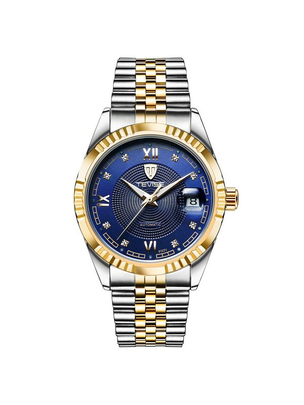 Tevise-8122-A Blue Luxury Automatic Watch For-Men
