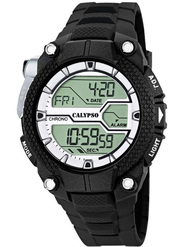 Calypso - K5605-1 Chronograph Digital Mens Watch