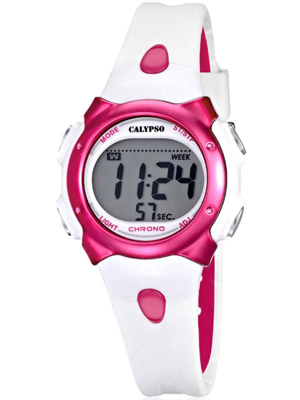 Calypso - K5609-3 Chronograph Digital Ladies Watch