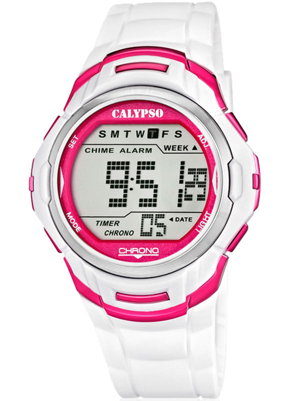 Calypso - K5611-3 Chronograph Digital Mens Watch
