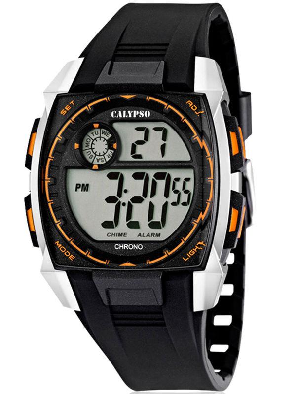 Calypso - K5619-4 Chronograph Digital Mens Watch