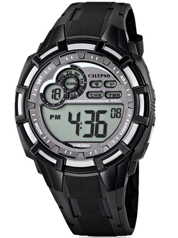 Calypso - K5625-1 Chronograph Digital Mens Watch