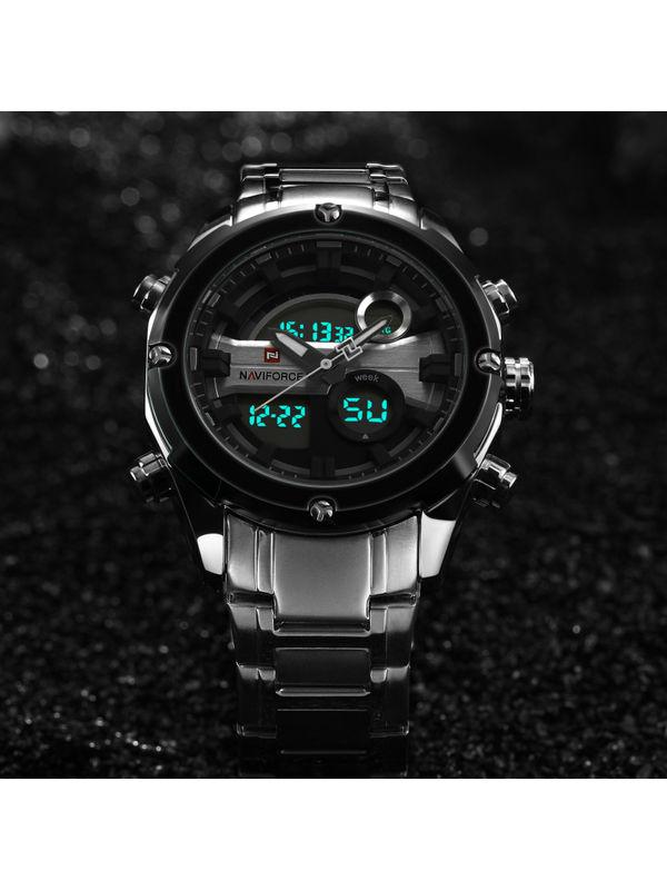 Naviforce-9088 Analog-Digital chronograph Watch For-Men
