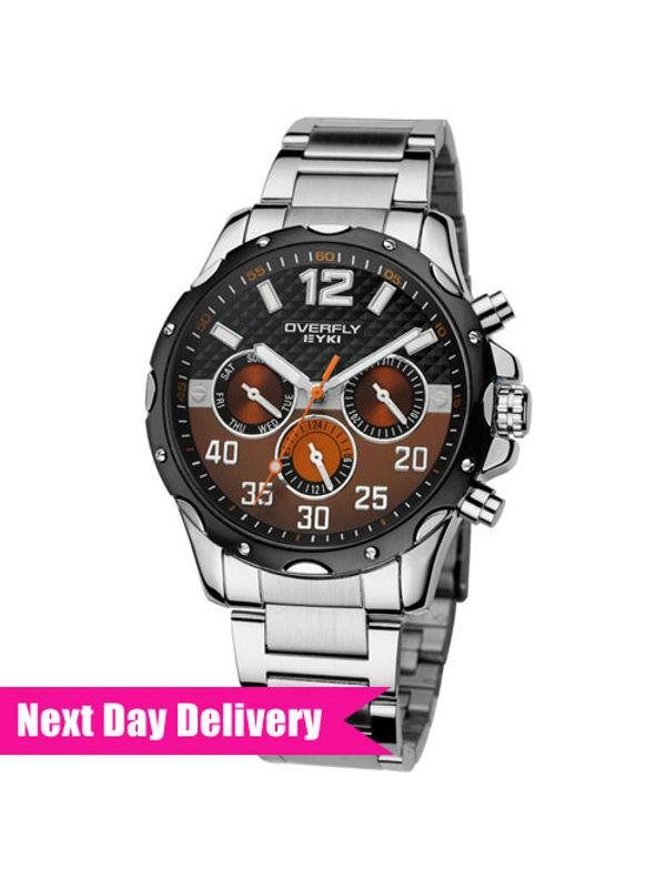Eyki Overfly EOV8572AG-SB02  Multifunction Mens  Watch