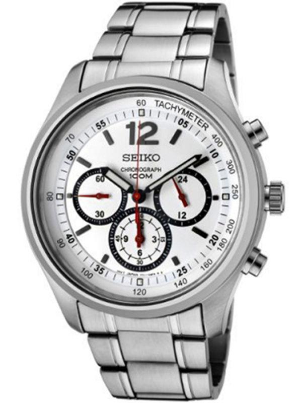 Seiko - SRW007P1 Chronograph Analog Mens Watch
