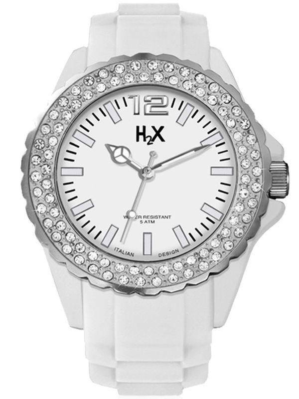 H2X - SS382DW1   Analog Ladies Watch