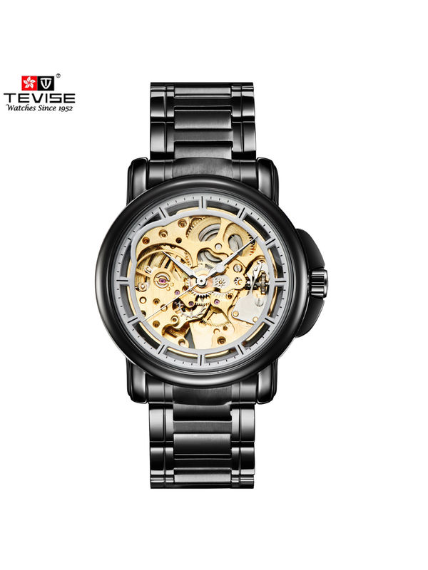 Tevise-8368-B Gold Luxury Automatic  watch For -Men
