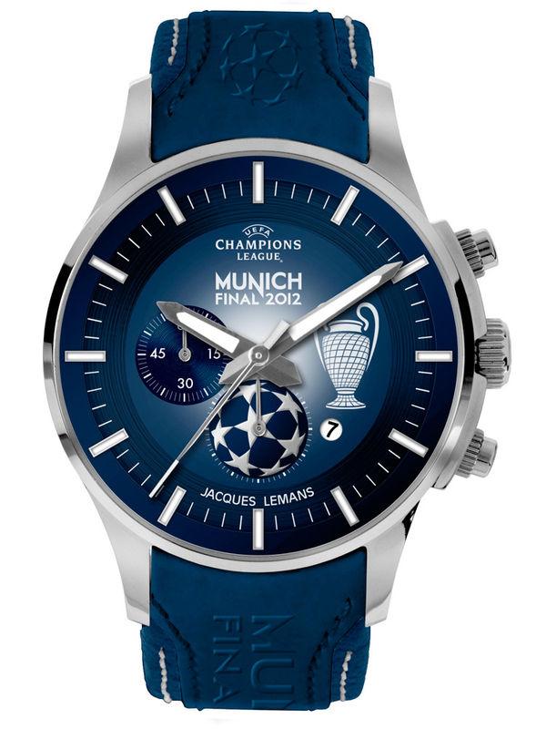 Jacques Lemans-U-36A Chronograph Analog Mens Watch