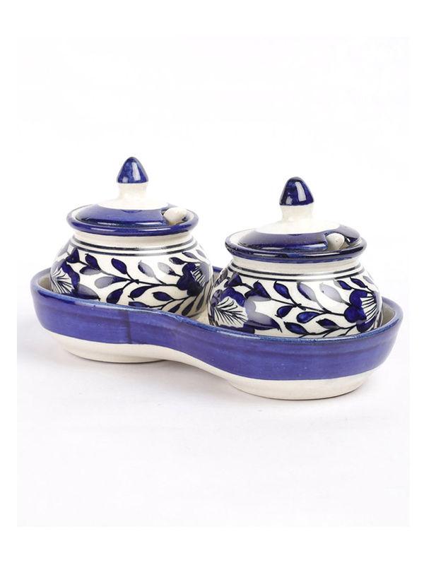 Blue Pickle Duo Jars Set Vsekw004
