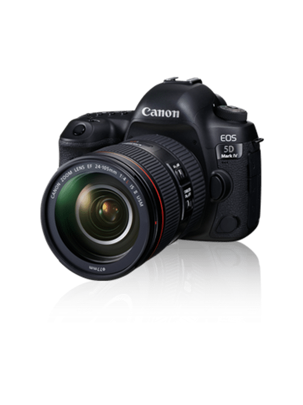 Canon Eos 5d Mark Iv Dslr Camera With 24 105mm F4l Ii Lens