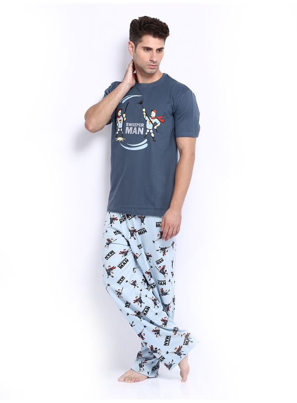 Buy Sweeper Man-men Pj Set Online India | Nuteez