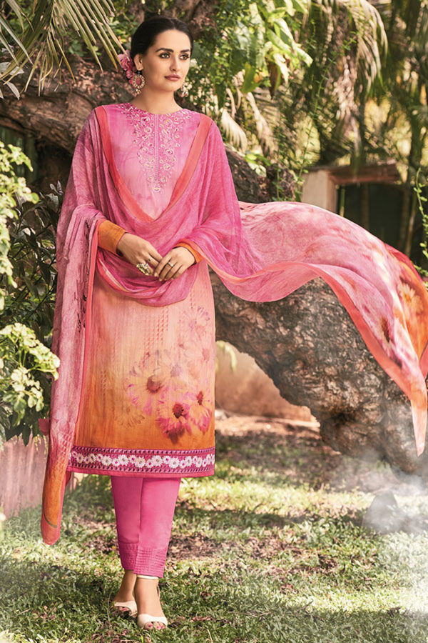 Casual Wear Straight Cotton Salwar Suit_17
