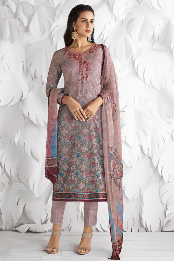 Casual Wear Straight Cotton Salwar Suit_23