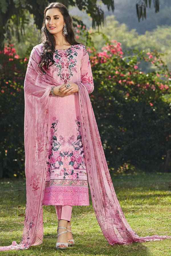 Casual Wear Straight Cotton Salwar Suit_5