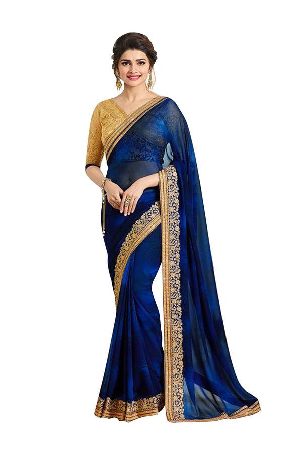 Prachi Desai Party Wear Saree_10