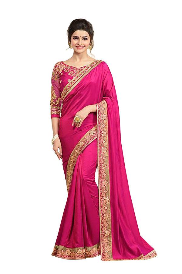 Prachi Desai Party Wear Saree_13