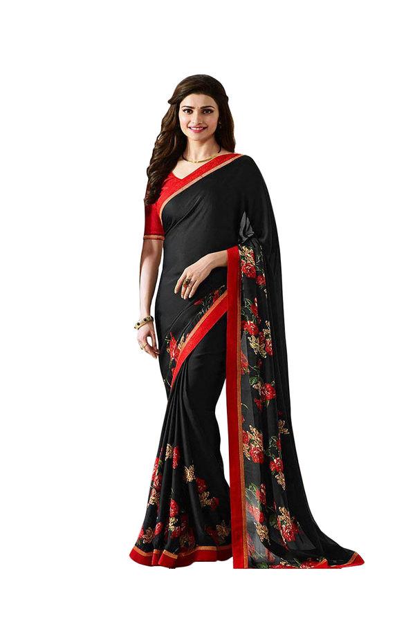 Prachi Desai Party Wear Saree_2