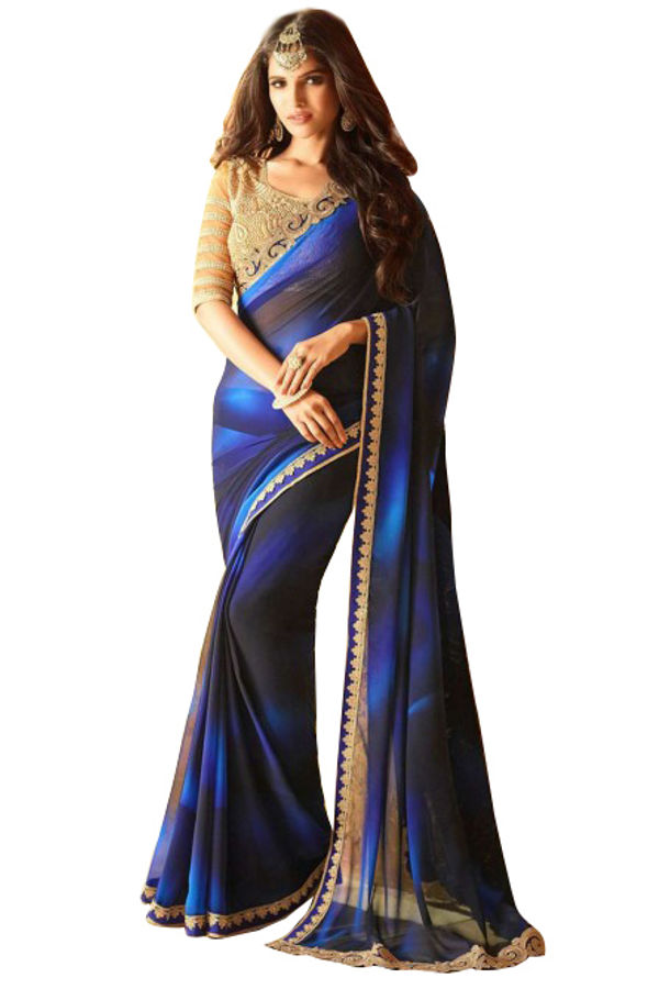 Prachi Desai Party Wear Saree_8
