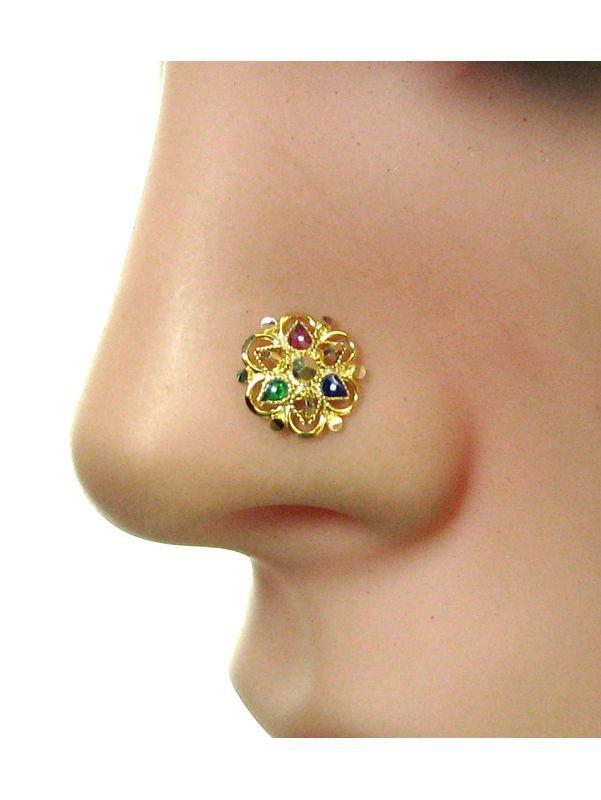Gold Nose Stud