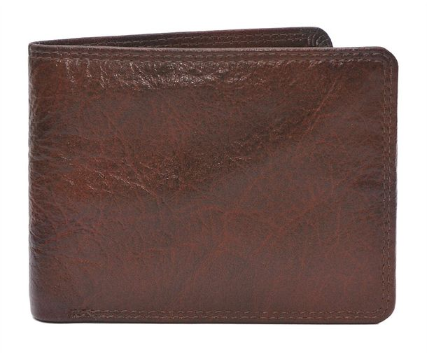 Brown Leather Belt And Wallet Gift For Men
