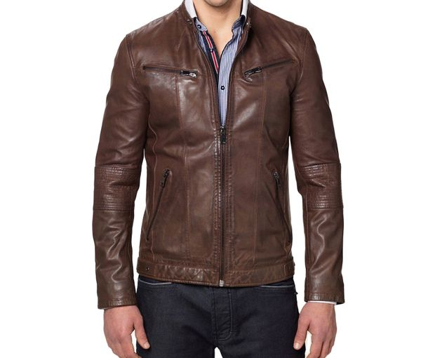 Leather jackets for men buy online