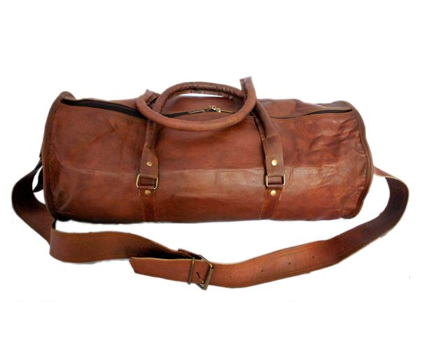 Buy Rustictown Leather Duffel Bags Online In India