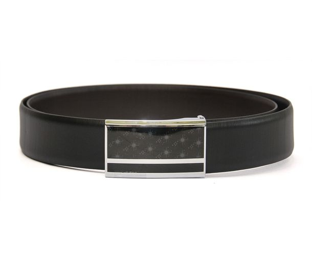 Hidemark Executive Mens Leather Belt With Box Frame Buckle Bkfb1986