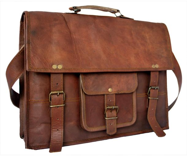 34d7772552 Handmade Leather Laptop Bags Indian | Stanford Center for ...