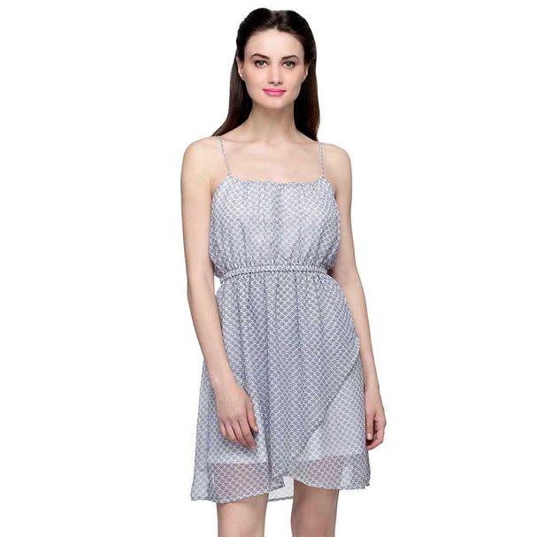 Printed Strap Dress