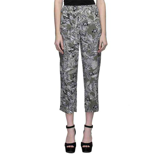 Floral Print Elasticated Trouser