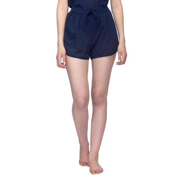 Navy Blue Nightwear Shorts