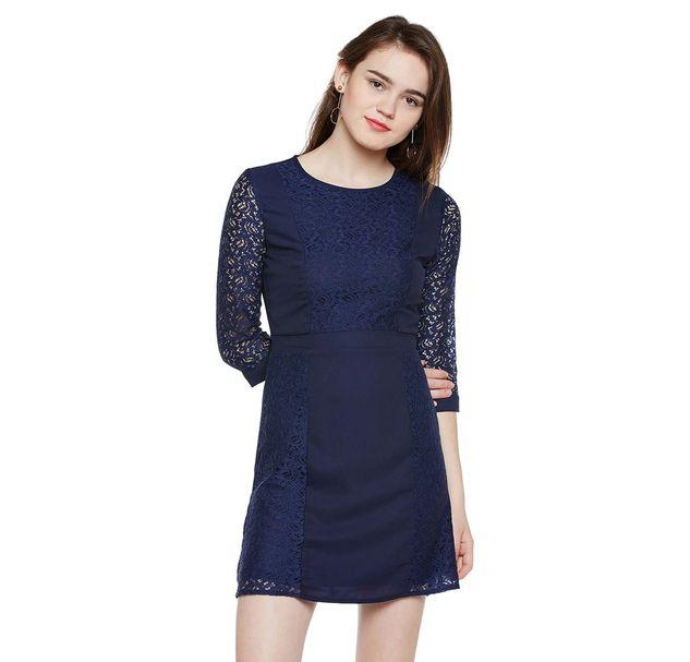 Blue Lace Dress