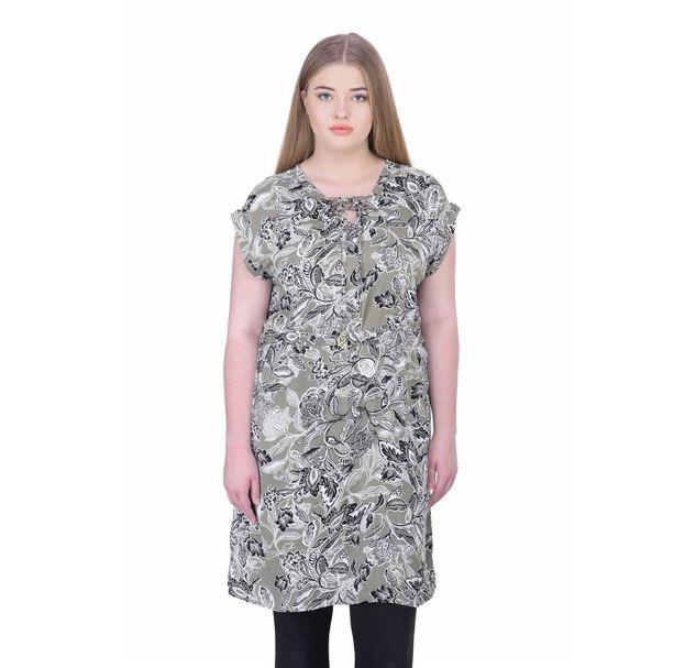 Women'S Plus Size Printed Tunic
