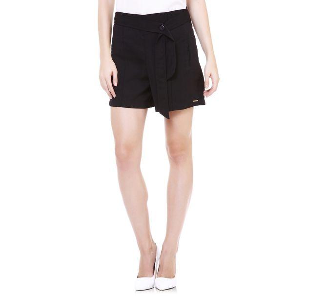Women Black Shorts