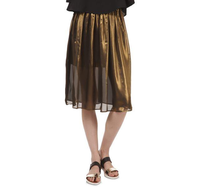 Women Gold Skirt