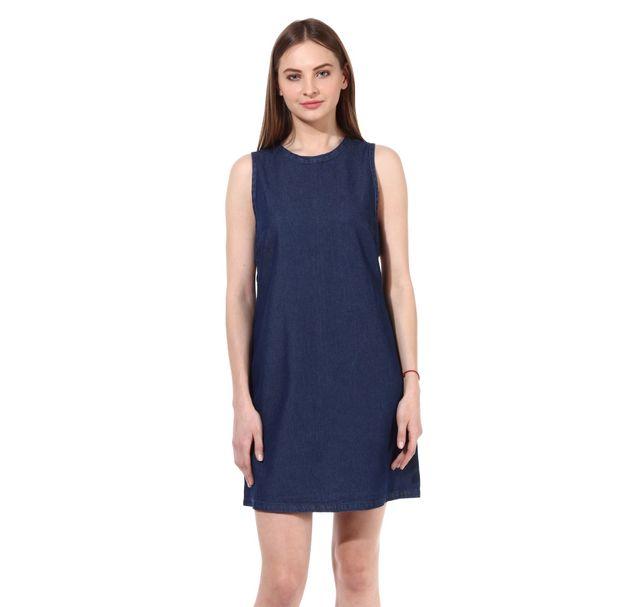 Women Blue Dress