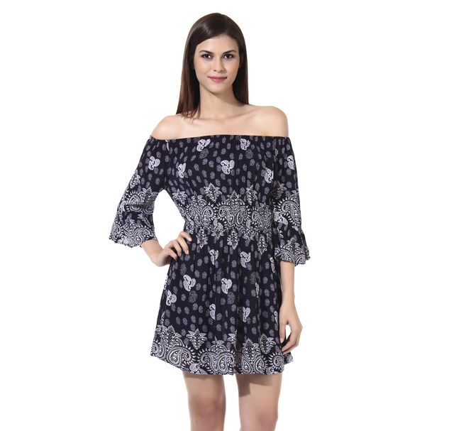 Women Paisley Dress
