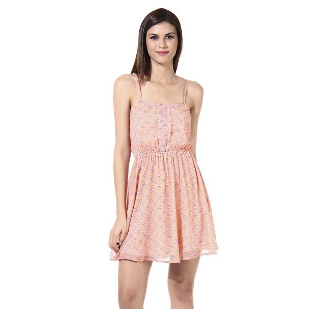 Women Peach Dress