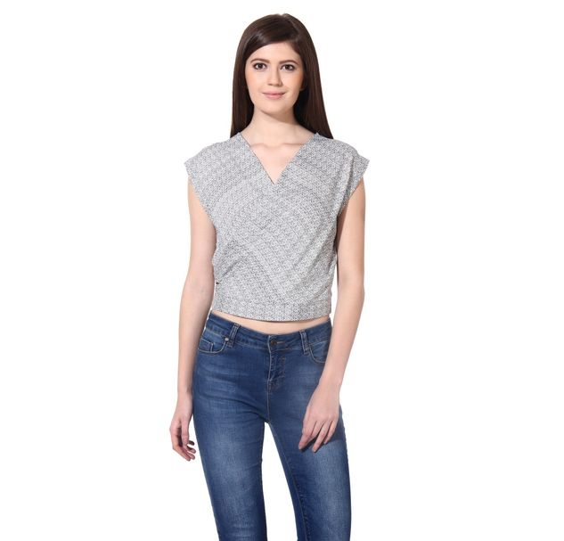 Women Trendy Wrap Top