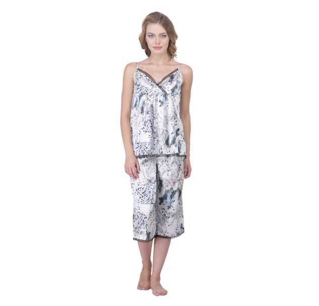 Women Printed Nightwear Set