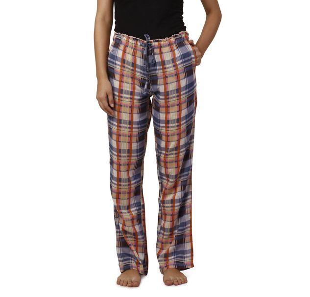 Women Check Nightwear Pyjamas