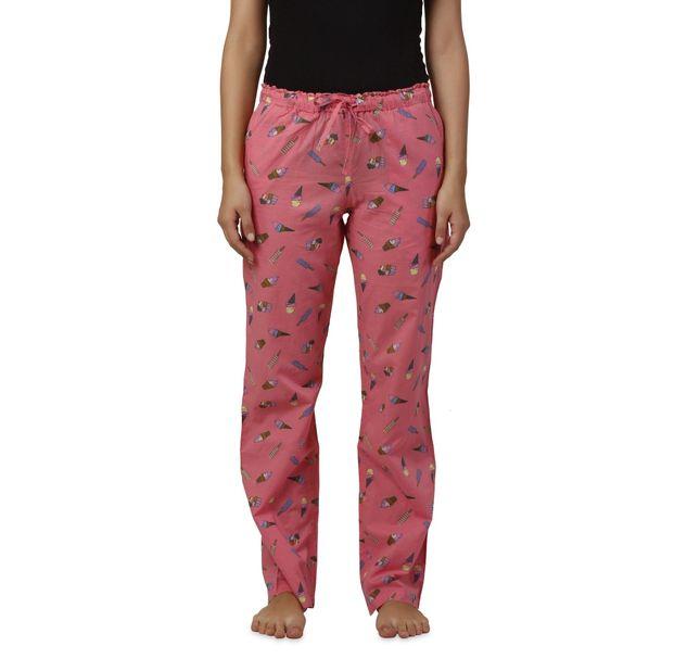 Women Pink Nightwear Pyjamas