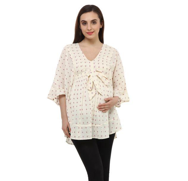 Maternity Cotton Top