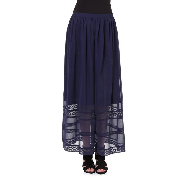 Women Blue Skirt